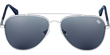 Wood-Stainless-Steel Sunglasses